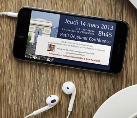 Invitation Déjeuner-conférence